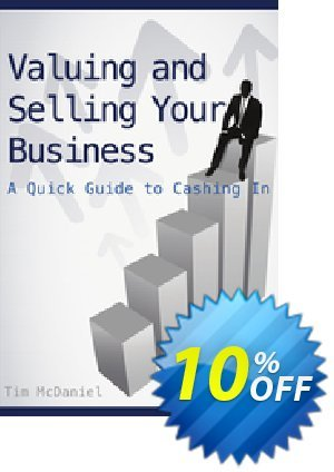 Valuing and Selling Your Business (McDaniel) discount coupon Valuing and Selling Your Business (McDaniel) Deal - Valuing and Selling Your Business (McDaniel) Exclusive Easter Sale offer for iVoicesoft