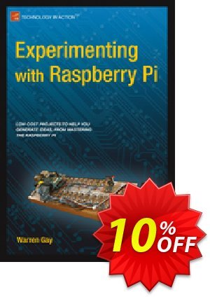 Experimenting with Raspberry Pi (Gay) discount coupon Experimenting with Raspberry Pi (Gay) Deal - Experimenting with Raspberry Pi (Gay) Exclusive Easter Sale offer for iVoicesoft