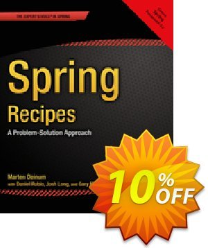 Spring Recipes (Rubio) 프로모션 코드 Spring Recipes (Rubio) Deal 프로모션: Spring Recipes (Rubio) Exclusive Easter Sale offer for iVoicesoft
