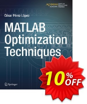 MATLAB Optimization Techniques (Lopez) discount coupon MATLAB Optimization Techniques (Lopez) Deal - MATLAB Optimization Techniques (Lopez) Exclusive Easter Sale offer for iVoicesoft