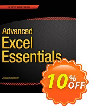 Advanced Excel Essentials (Goldmeier) discount coupon Advanced Excel Essentials (Goldmeier) Deal - Advanced Excel Essentials (Goldmeier) Exclusive Easter Sale offer for iVoicesoft