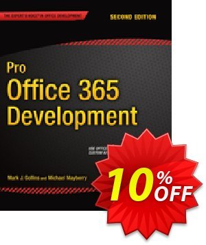 Pro Office 365 Development (Mayberry) Coupon discount Pro Office 365 Development (Mayberry) Deal. Promotion: Pro Office 365 Development (Mayberry) Exclusive Easter Sale offer for iVoicesoft