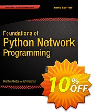 Foundations of Python Network Programming (Rhodes) discount coupon Foundations of Python Network Programming (Rhodes) Deal - Foundations of Python Network Programming (Rhodes) Exclusive Easter Sale offer for iVoicesoft