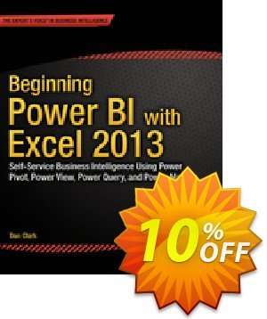 Beginning Power BI with Excel 2013 (Clark) discount coupon Beginning Power BI with Excel 2013 (Clark) Deal - Beginning Power BI with Excel 2013 (Clark) Exclusive Easter Sale offer for iVoicesoft