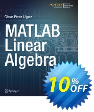 MATLAB Linear Algebra (Lopez) 프로모션 코드 MATLAB Linear Algebra (Lopez) Deal 프로모션: MATLAB Linear Algebra (Lopez) Exclusive Easter Sale offer for iVoicesoft