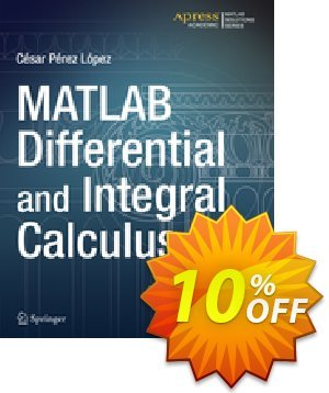MATLAB Differential and Integral Calculus (Lopez) 프로모션 코드 MATLAB Differential and Integral Calculus (Lopez) Deal 프로모션: MATLAB Differential and Integral Calculus (Lopez) Exclusive Easter Sale offer for iVoicesoft