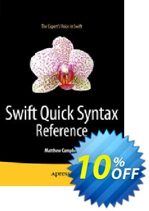 Swift Quick Syntax Reference (Campbell) discount coupon Swift Quick Syntax Reference (Campbell) Deal - Swift Quick Syntax Reference (Campbell) Exclusive Easter Sale offer for iVoicesoft