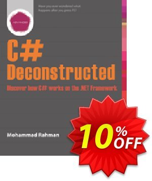 C# Deconstructed (Rahman) discount coupon C# Deconstructed (Rahman) Deal - C# Deconstructed (Rahman) Exclusive Easter Sale offer for iVoicesoft