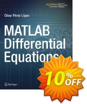 MATLAB Differential Equations (Lopez) discount coupon MATLAB Differential Equations (Lopez) Deal - MATLAB Differential Equations (Lopez) Exclusive Easter Sale offer for iVoicesoft