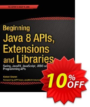 Beginning Java 8 APIs, Extensions and Libraries (Sharan) discount coupon Beginning Java 8 APIs, Extensions and Libraries (Sharan) Deal - Beginning Java 8 APIs, Extensions and Libraries (Sharan) Exclusive Easter Sale offer for iVoicesoft
