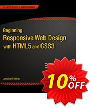 Beginning Responsive Web Design with HTML5 and CSS3 (Fielding) discount coupon Beginning Responsive Web Design with HTML5 and CSS3 (Fielding) Deal - Beginning Responsive Web Design with HTML5 and CSS3 (Fielding) Exclusive Easter Sale offer for iVoicesoft