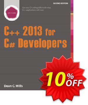 C++ 2013 for C# Developers (Wills) discount coupon C++ 2013 for C# Developers (Wills) Deal - C++ 2013 for C# Developers (Wills) Exclusive Easter Sale offer for iVoicesoft