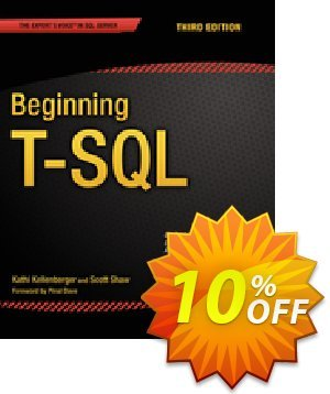 Beginning T-SQL (Kellenberger) discount coupon Beginning T-SQL (Kellenberger) Deal - Beginning T-SQL (Kellenberger) Exclusive Easter Sale offer for iVoicesoft