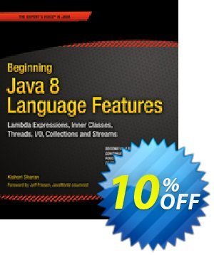 Beginning Java 8 Language Features (Sharan) discount coupon Beginning Java 8 Language Features (Sharan) Deal - Beginning Java 8 Language Features (Sharan) Exclusive Easter Sale offer for iVoicesoft