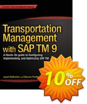 Transportation Management with SAP TM 9 (Daithankar) discount coupon Transportation Management with SAP TM 9 (Daithankar) Deal - Transportation Management with SAP TM 9 (Daithankar) Exclusive Easter Sale offer for iVoicesoft