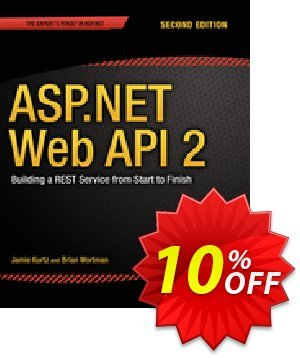 ASP.NET Web API 2: Building a REST Service from Start to Finish (Kurtz) discount coupon ASP.NET Web API 2: Building a REST Service from Start to Finish (Kurtz) Deal - ASP.NET Web API 2: Building a REST Service from Start to Finish (Kurtz) Exclusive Easter Sale offer for iVoicesoft