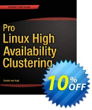 Pro Linux High Availability Clustering (van Vugt) 優惠券,折扣碼 Pro Linux High Availability Clustering (van Vugt) Deal,促銷代碼: Pro Linux High Availability Clustering (van Vugt) Exclusive Easter Sale offer for iVoicesoft