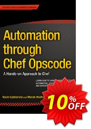 Automation through Chef Opscode (Sabharwal) discount coupon Automation through Chef Opscode (Sabharwal) Deal - Automation through Chef Opscode (Sabharwal) Exclusive Easter Sale offer for iVoicesoft
