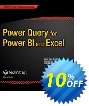 Power Query for Power BI and Excel (Webb) 優惠券,折扣碼 Power Query for Power BI and Excel (Webb) Deal,促銷代碼: Power Query for Power BI and Excel (Webb) Exclusive Easter Sale offer for iVoicesoft
