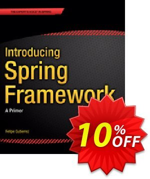 Introducing Spring Framework (Gutierrez) discount coupon Introducing Spring Framework (Gutierrez) Deal - Introducing Spring Framework (Gutierrez) Exclusive Easter Sale offer for iVoicesoft
