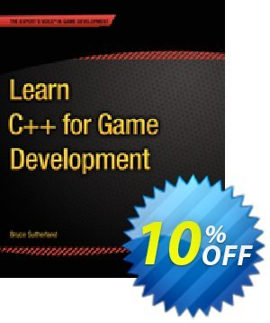 Learn C++ for Game Development (Sutherland) discount coupon Learn C++ for Game Development (Sutherland) Deal - Learn C++ for Game Development (Sutherland) Exclusive Easter Sale offer for iVoicesoft