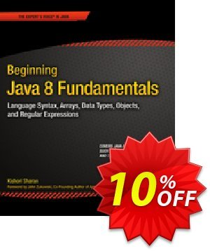 Beginning Java 8 Fundamentals (Sharan) discount coupon Beginning Java 8 Fundamentals (Sharan) Deal - Beginning Java 8 Fundamentals (Sharan) Exclusive Easter Sale offer for iVoicesoft