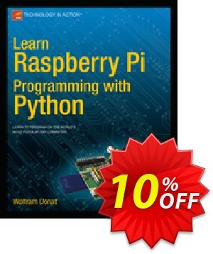 Learn Raspberry Pi Programming with Python (Donat) 優惠券,折扣碼 Learn Raspberry Pi Programming with Python (Donat) Deal,促銷代碼: Learn Raspberry Pi Programming with Python (Donat) Exclusive Easter Sale offer for iVoicesoft