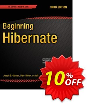 Beginning Hibernate (Minter) 優惠券,折扣碼 Beginning Hibernate (Minter) Deal,促銷代碼: Beginning Hibernate (Minter) Exclusive Easter Sale offer for iVoicesoft