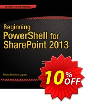 Beginning PowerShell for SharePoint 2013 (Charlebois-Laprade) discount coupon Beginning PowerShell for SharePoint 2013 (Charlebois-Laprade) Deal - Beginning PowerShell for SharePoint 2013 (Charlebois-Laprade) Exclusive Easter Sale offer for iVoicesoft