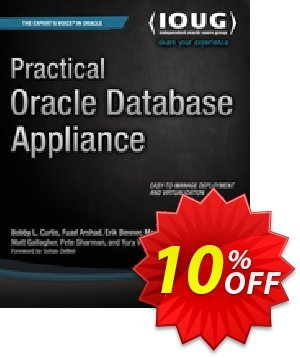 Practical Oracle Database Appliance (Curtis) 優惠券,折扣碼 Practical Oracle Database Appliance (Curtis) Deal,促銷代碼: Practical Oracle Database Appliance (Curtis) Exclusive Easter Sale offer for iVoicesoft