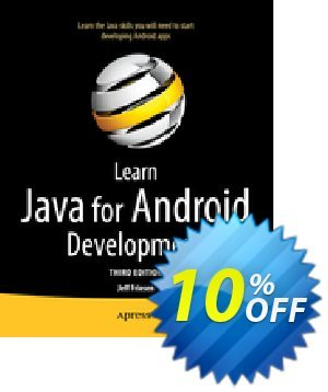 Learn Java for Android Development (Friesen) 優惠券,折扣碼 Learn Java for Android Development (Friesen) Deal,促銷代碼: Learn Java for Android Development (Friesen) Exclusive Easter Sale offer for iVoicesoft
