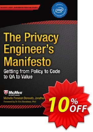 The Privacy Engineer's Manifesto (Dennedy) discount coupon The Privacy Engineer's Manifesto (Dennedy) Deal - The Privacy Engineer's Manifesto (Dennedy) Exclusive Easter Sale offer for iVoicesoft