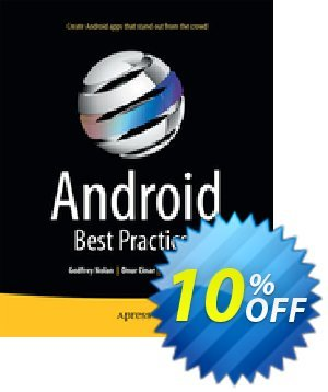 Android Best Practices (Nolan) discount coupon Android Best Practices (Nolan) Deal - Android Best Practices (Nolan) Exclusive Easter Sale offer for iVoicesoft