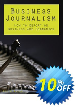 Business Journalism (Hayes) discount coupon Business Journalism (Hayes) Deal - Business Journalism (Hayes) Exclusive Easter Sale offer for iVoicesoft