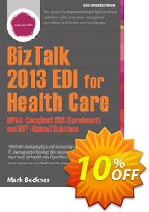 BizTalk 2013 EDI for Health Care (Beckner) discount coupon BizTalk 2013 EDI for Health Care (Beckner) Deal - BizTalk 2013 EDI for Health Care (Beckner) Exclusive Easter Sale offer for iVoicesoft