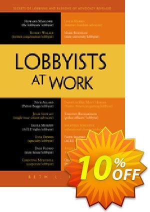 Lobbyists at Work (Leech) discount coupon Lobbyists at Work (Leech) Deal - Lobbyists at Work (Leech) Exclusive Easter Sale offer for iVoicesoft