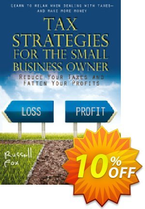 Tax Strategies for the Small Business Owner (Fox) 優惠券,折扣碼 Tax Strategies for the Small Business Owner (Fox) Deal,促銷代碼: Tax Strategies for the Small Business Owner (Fox) Exclusive Easter Sale offer for iVoicesoft