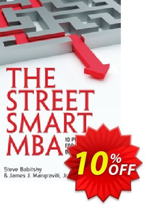 The Street Smart MBA (Mangraviti) Coupon discount The Street Smart MBA (Mangraviti) Deal. Promotion: The Street Smart MBA (Mangraviti) Exclusive Easter Sale offer for iVoicesoft