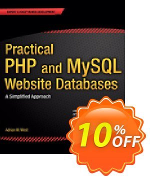 Practical PHP and MySQL Website Databases (West) discount coupon Practical PHP and MySQL Website Databases (West) Deal - Practical PHP and MySQL Website Databases (West) Exclusive Easter Sale offer for iVoicesoft