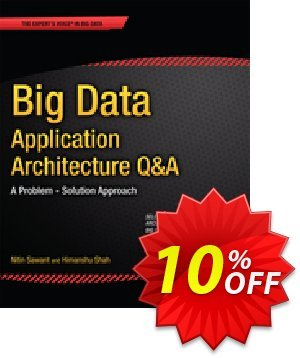 Big Data Application Architecture Q&A (Sawant) 優惠券,折扣碼 Big Data Application Architecture Q&A (Sawant) Deal,促銷代碼: Big Data Application Architecture Q&A (Sawant) Exclusive Easter Sale offer for iVoicesoft