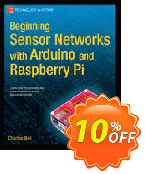Beginning Sensor Networks with Arduino and Raspberry Pi (Bell) 優惠券,折扣碼 Beginning Sensor Networks with Arduino and Raspberry Pi (Bell) Deal,促銷代碼: Beginning Sensor Networks with Arduino and Raspberry Pi (Bell) Exclusive Easter Sale offer for iVoicesoft