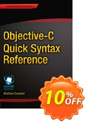 Objective-C Quick Syntax Reference (Campbell) discount coupon Objective-C Quick Syntax Reference (Campbell) Deal - Objective-C Quick Syntax Reference (Campbell) Exclusive Easter Sale offer for iVoicesoft