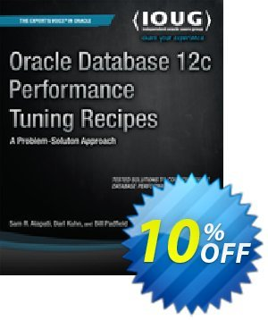 Oracle Database 12c Performance Tuning Recipes (Alapati) 優惠券,折扣碼 Oracle Database 12c Performance Tuning Recipes (Alapati) Deal,促銷代碼: Oracle Database 12c Performance Tuning Recipes (Alapati) Exclusive Easter Sale offer for iVoicesoft
