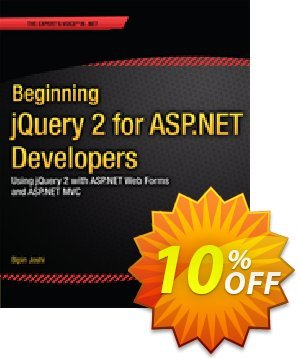 Beginning jQuery 2 for ASP.NET Developers (Joshi) discount coupon Beginning jQuery 2 for ASP.NET Developers (Joshi) Deal - Beginning jQuery 2 for ASP.NET Developers (Joshi) Exclusive Easter Sale offer for iVoicesoft