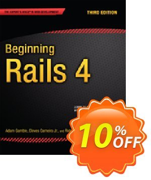 Beginning Rails 4 (Gamble) discount coupon Beginning Rails 4 (Gamble) Deal - Beginning Rails 4 (Gamble) Exclusive Easter Sale offer for iVoicesoft