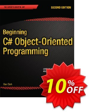 Beginning C# Object-Oriented Programming (Clark) discount coupon Beginning C# Object-Oriented Programming (Clark) Deal - Beginning C# Object-Oriented Programming (Clark) Exclusive Easter Sale offer for iVoicesoft
