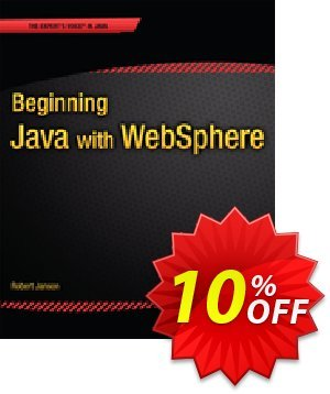 Beginning Java with WebSphere (Janson) 프로모션 코드 Beginning Java with WebSphere (Janson) Deal 프로모션: Beginning Java with WebSphere (Janson) Exclusive Easter Sale offer for iVoicesoft