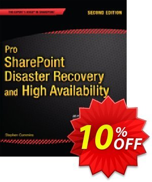 Pro SharePoint Disaster Recovery and High Availability (Cummins) discount coupon Pro SharePoint Disaster Recovery and High Availability (Cummins) Deal - Pro SharePoint Disaster Recovery and High Availability (Cummins) Exclusive Easter Sale offer for iVoicesoft