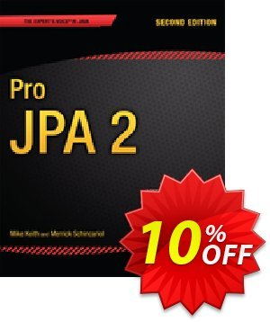 Pro JPA 2 (Keith) discount coupon Pro JPA 2 (Keith) Deal - Pro JPA 2 (Keith) Exclusive Easter Sale offer for iVoicesoft
