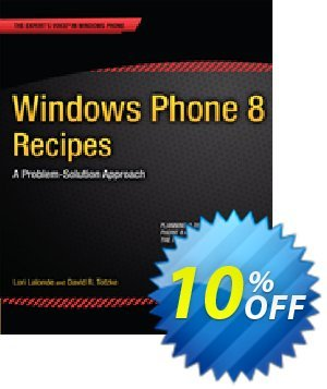 Windows Phone 8 Recipes (Lalonde) discount coupon Windows Phone 8 Recipes (Lalonde) Deal - Windows Phone 8 Recipes (Lalonde) Exclusive Easter Sale offer for iVoicesoft
